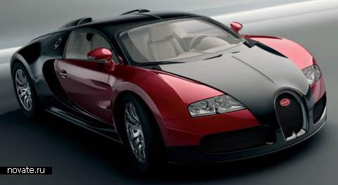Самые быстрые и дорогие серийные автомобили мира(на фотографии Bugatti Veyron)