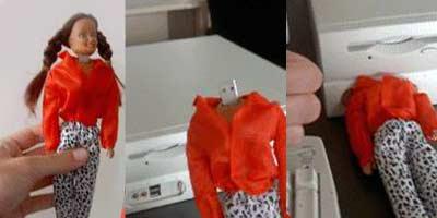 Флэшка в виде куклы Барби