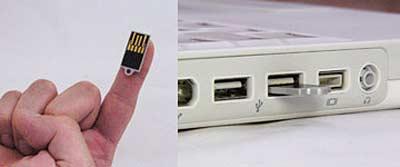 Самая миниатюрная USB-флэшка на сегодняшний день