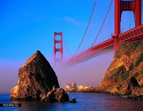 Возможно самый знаменитый мост мира - Golden Gate. Золотые Ворота