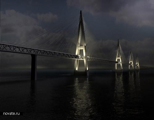 Мост Фемарн Белт соединит Датский и Германский острова