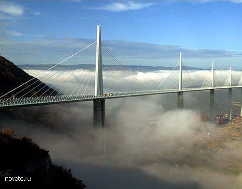 Виадук Мийо - самый высокий вантовый мост в мире