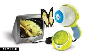 Игрушка-микроскоп