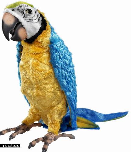 """Игрушка """"Говорящий попугай"""""""