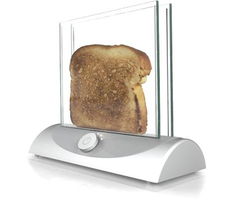 Прозрачные тостеры еще только в ранге концепта, но идея явно витает в воздухе