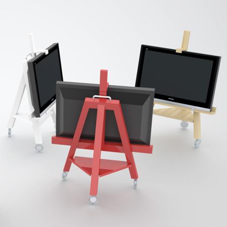ТВ-мольберт - подставка под жидкокристаллическую панель