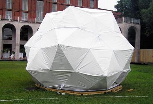 Дом из зонтиков