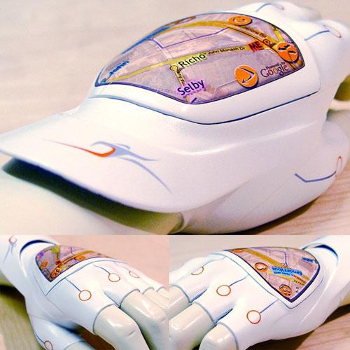 Перчатки со встроенным GPS-приемником