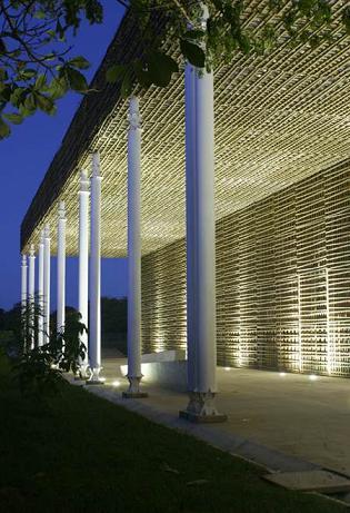 Необычная библиотека Villanueva в Колумбии