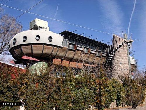 Дом-Хуверкрафт в Нью-Мехико