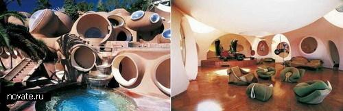 Дом из пузырьков во Франции