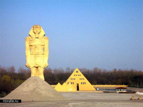 Египетский дом в Делани