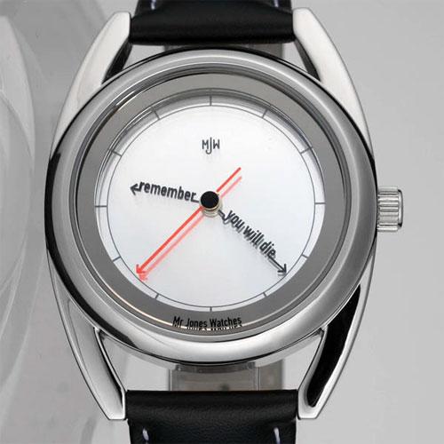 Часы будут постоянно напоминать вам о том, что вы не бессмертны