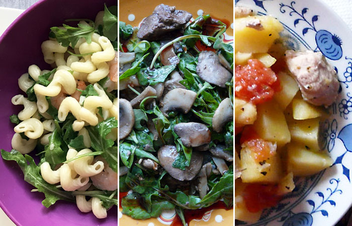 Восемь рецептов быстрых блюд.