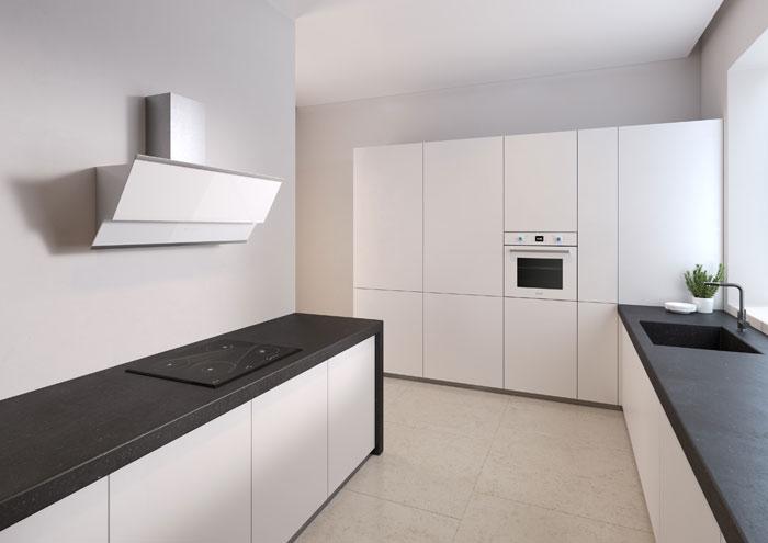 Варочная поверхность Fornelli PIA 60 Meridiana в интерьере кухнию.