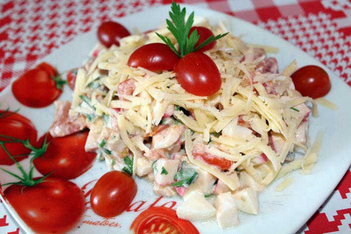Красный салат.