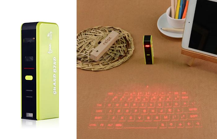 Проекционная клавиатура.