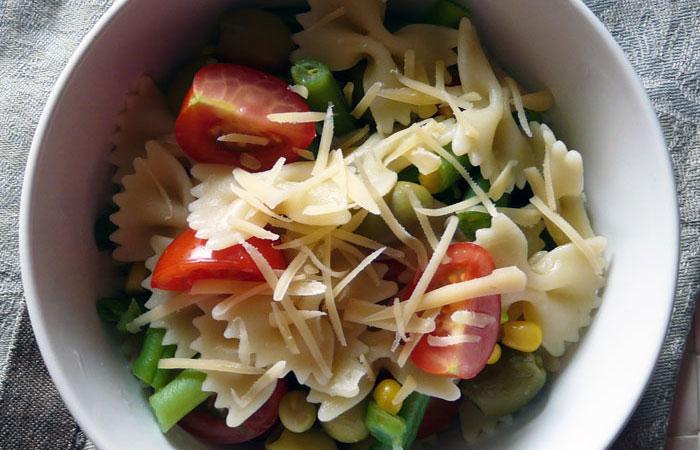 Макаронный салат.
