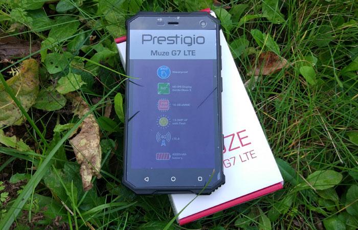 Смартфон Prestigio Muze G7 LTE.
