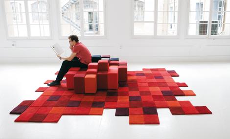 Необычные ковры от дизайнера Nani Marquina<br>