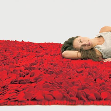 Ковер лепестки розы