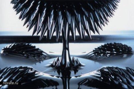 Ферромагнитные скульптуры: когда наука встречается с искусством.