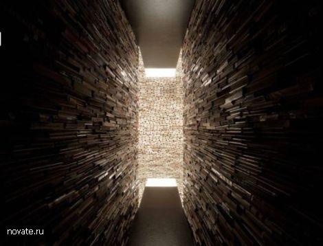 Книжный тоннель. Сюрреализм интеллигентности