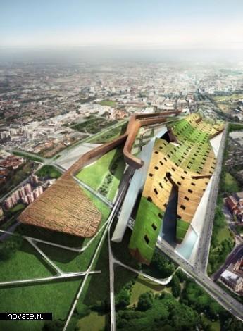 Подборка самых зеленых архитектурных проектов будущего