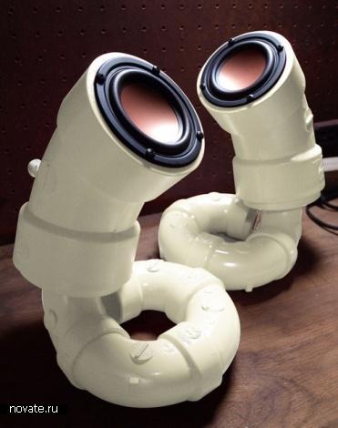 Колонки или водопроводные трубы? Совсем не трубные звуки