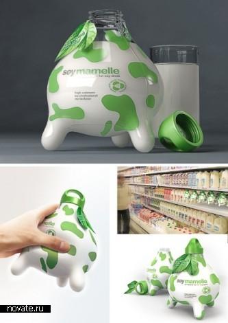 Молоко вдвойне вкусней, если оно в необычной упаковке. Обзор молочных упаковок, часть первая