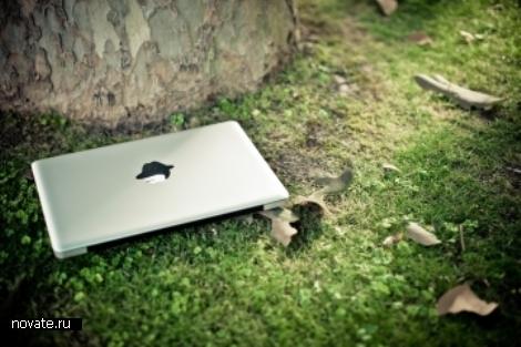 Сделать Macintosh чуть более персональным. Наклейки на яблочки