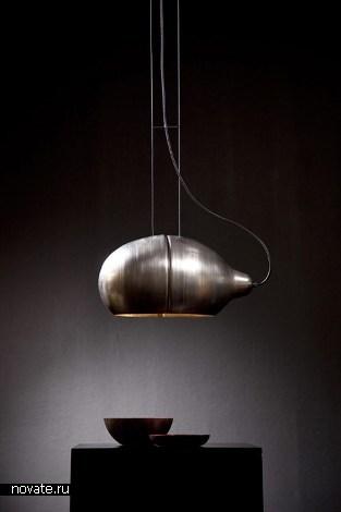 Kalotte - кованная лампа от Sebastian Summa