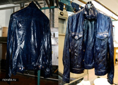 Одежда из бактериальной целлюлозы.