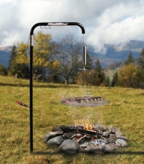 Automatic Chef - мобильный гриль для выездок на природу от супругов Begotka