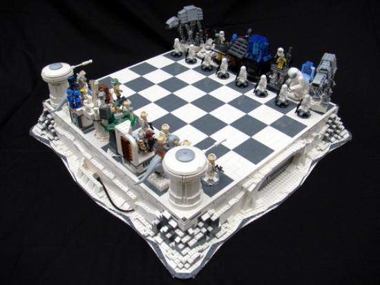 Лего-шахматы звездные войны
