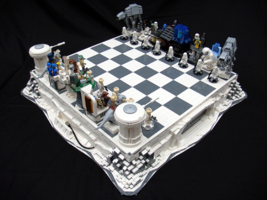 Шахматы от lego конструктор интеллекта