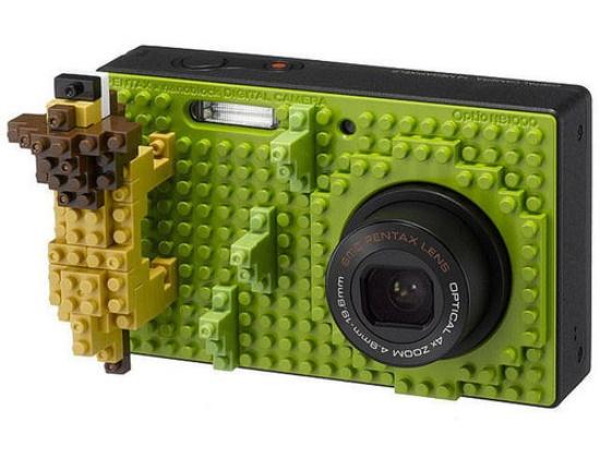 Pentax Optio NB1000 - камера для любителей Lego