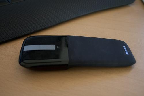 Le Arc Touch Mouse - сгибаемая сенсорная мышь от Microsoft