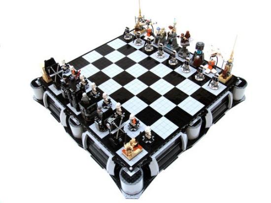 Шахматы от Lego. Конструктор интеллекта