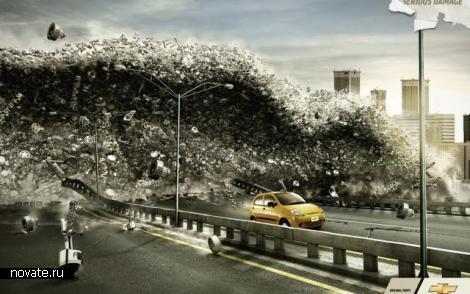 10 отличных реклам автомобилей.
