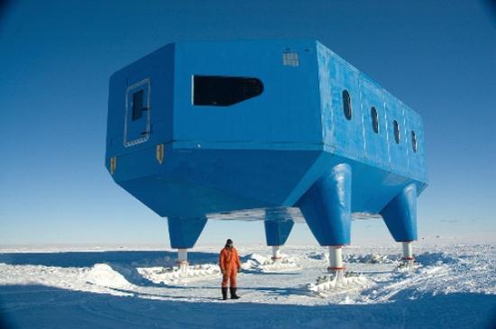 Halley VI, первый модуль британской антарктической базы