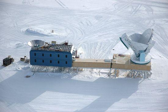 Американский телескоп на Южном Полюсе