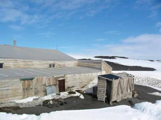 Шотландская избушка на Антарктиде