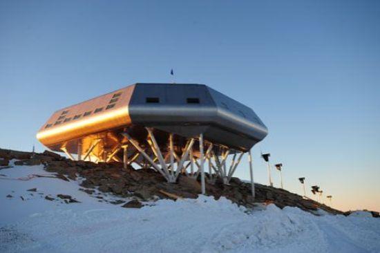 Бельгийская антарктическая база с нулевым уровнем выбросов