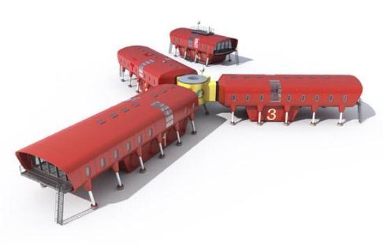 Дизайн испанской антарктической базы