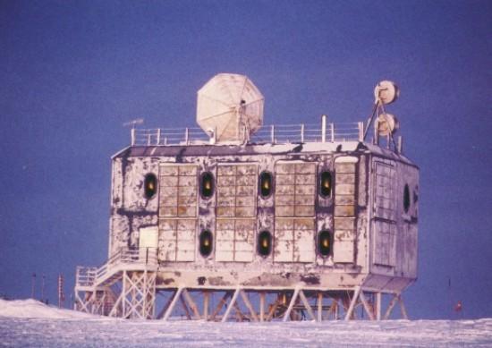 Amundsen Scott, дизайн американской антарктической базы