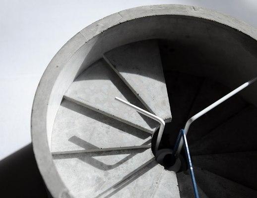 Возможность увидеть четвертое измерение: бетонные часы 4th dimension clock
