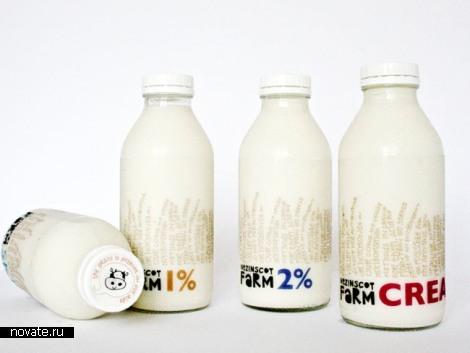 Молоко вдвойне вкусней, если оно в необычной упаковке. Обзор молочных упаковок, часть вторая