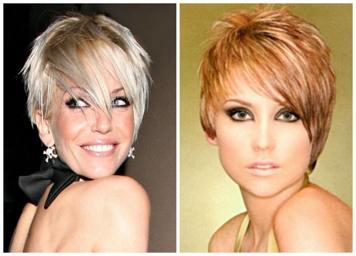 Ассиметричные стрижки на короткие волосы подойдут экстравагантным девушкам