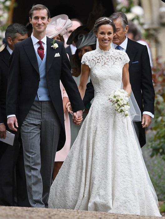 Свадебное платье пиппы миддлтон фото